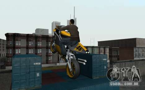 New Sky para GTA San Andreas quinto tela