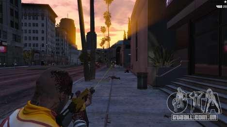 GTA 5 Visão Laser segundo screenshot