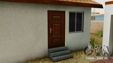 Big Smoke House para GTA San Andreas quinto tela
