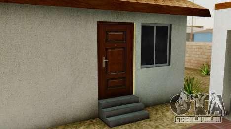 Big Smoke House para GTA San Andreas quinto tela