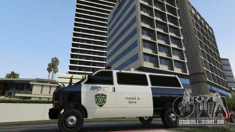 GTA 5 Raccoon City Vehicles quinta imagem de tela