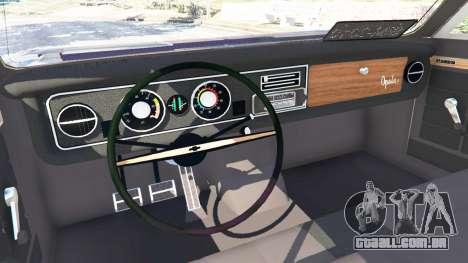 GTA 5 Chevrolet Opala Gran Luxo vista lateral direita
