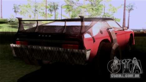 Ford Falcon XA Red Bat Mad Max 2 para GTA San Andreas esquerda vista