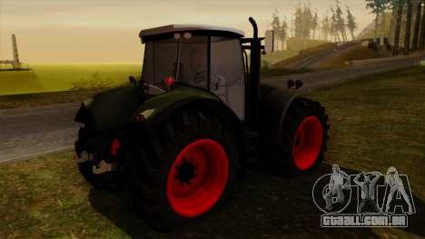 GTA 5 Fieldmaster para GTA San Andreas esquerda vista