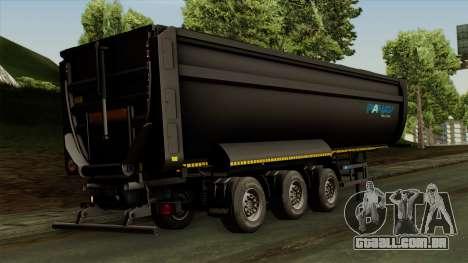 Panav Trailer para GTA San Andreas esquerda vista