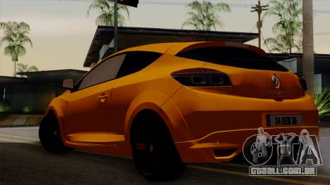 Renault Megane Sport HKNgarage para GTA San Andreas esquerda vista