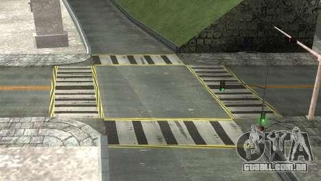 Roads Full Version LS-LV-SF para GTA San Andreas quinto tela