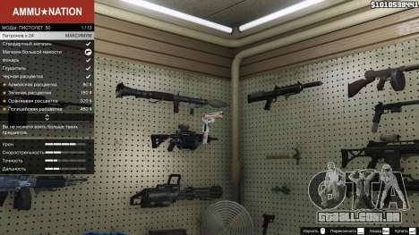 GTA 5 Asiimov Pistol.50 segundo screenshot