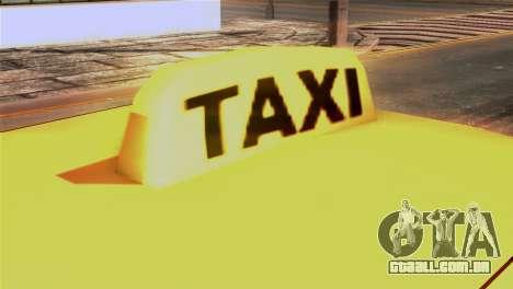 Taxi Kuruma 0.9 para GTA San Andreas vista traseira