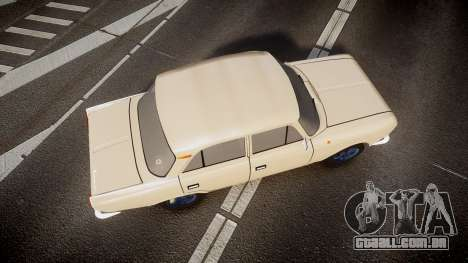 Moskvich-412 para GTA 4 vista direita