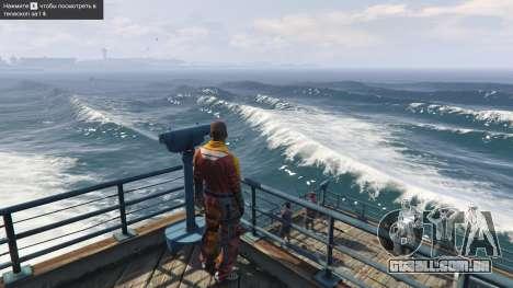 Grandes ondas v1.1 para GTA 5
