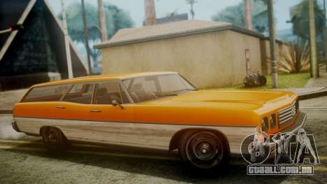GTA 5 Dundreary Regina para GTA San Andreas