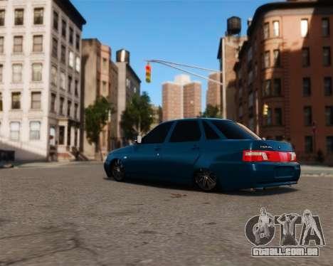 VAZ 2110 para GTA 4 traseira esquerda vista