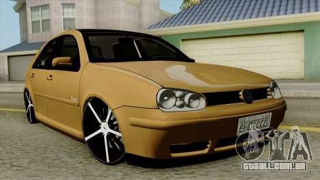 Volkswagen Golf 2004 Edit para GTA San Andreas