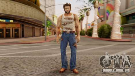 Wolverine v1 para GTA San Andreas segunda tela