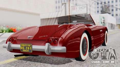 Ascot Bailey S200 from Mafia 2 para GTA San Andreas esquerda vista