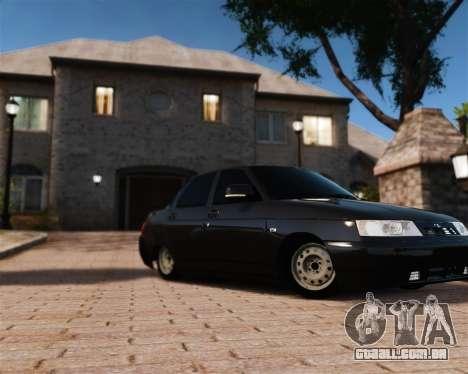 VAZ 2110 para GTA 4 vista lateral