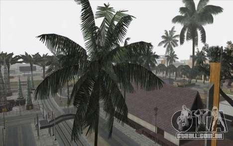 Árvores de WarFace para GTA San Andreas por diante tela