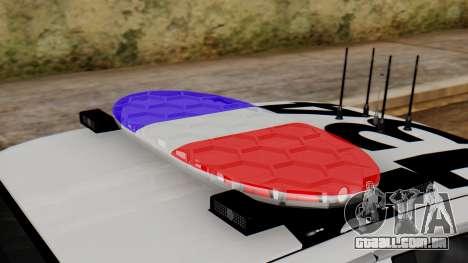 Police SF 2013 para GTA San Andreas vista traseira
