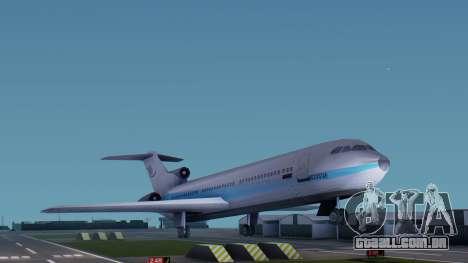 DMA Airtrain from GTA 3 v1.0 para GTA San Andreas traseira esquerda vista