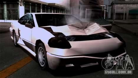 Novos danos texturas para GTA San Andreas