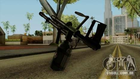 Original HD Flame Thrower para GTA San Andreas segunda tela