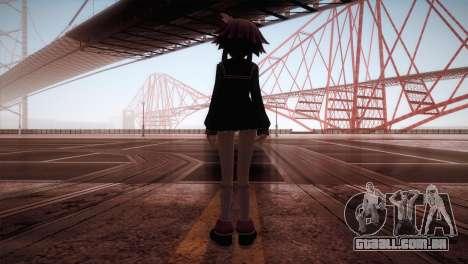 Natsumi para GTA San Andreas terceira tela