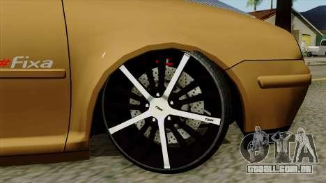 Volkswagen Golf 2004 Edit para GTA San Andreas traseira esquerda vista