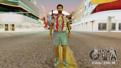 Dos turistas para GTA San Andreas segunda tela