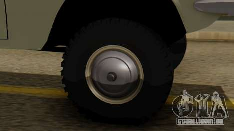 GAZ 24-95 para GTA San Andreas traseira esquerda vista