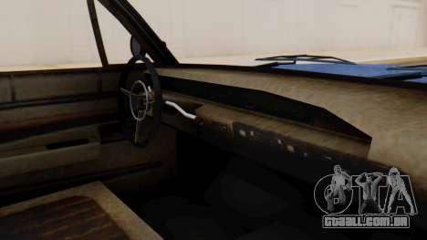 GTA 5 Declasse Voodoo Worn IVF para GTA San Andreas vista direita