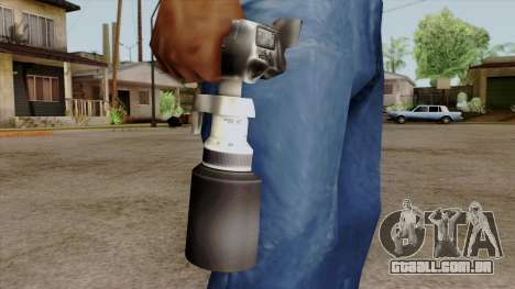 Original HD Camera para GTA San Andreas terceira tela