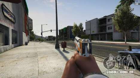 GTA 5 Asiimov Pistol.50 quinta imagem de tela