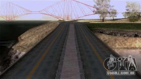 Roads Full Version LS-LV-SF para GTA San Andreas