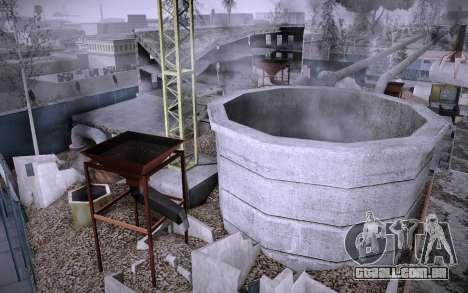Edifício na Grove Street v0.1 Beta para GTA San Andreas por diante tela
