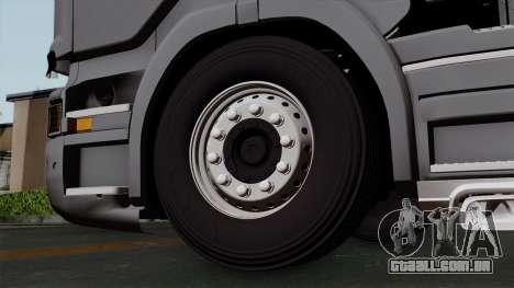 Scania R730 Streamline 4x2 para GTA San Andreas traseira esquerda vista