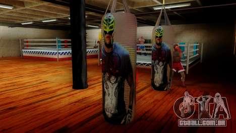 Pêra com Rey Mysterio para GTA San Andreas terceira tela