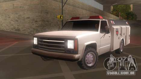 FDSA Fire Van para GTA San Andreas