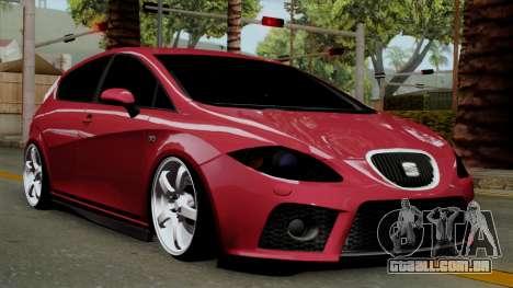 Seat Leon Cupra Static para GTA San Andreas