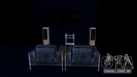 Retextured interior da mansão de MADD Dogg para GTA San Andreas sexta tela