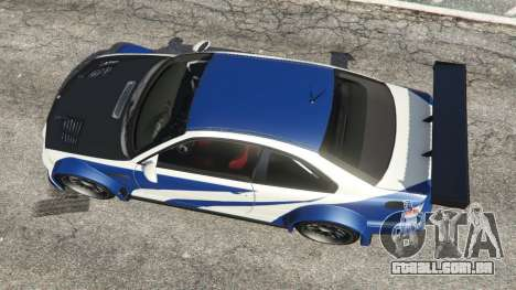 BMW M3 GTR E46 Most Wanted v1.2 para GTA 5