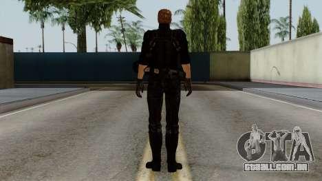 Wesker Midnight para GTA San Andreas terceira tela