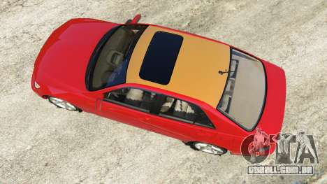 GTA 5 Lexus IS300 voltar vista