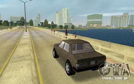 Designer Série - Almirante para GTA Vice City deixou vista