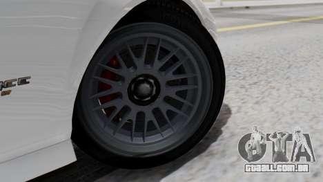 GTA 5 Banshee para GTA San Andreas traseira esquerda vista