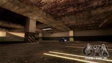 Novo LSPD Estacionamento para GTA San Andreas sexta tela
