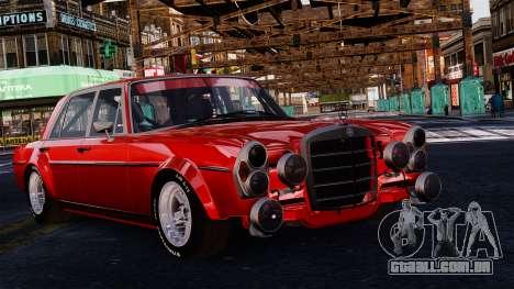 Mercedes-Benz 300 SEL 6.8 AMG W109 para GTA 4