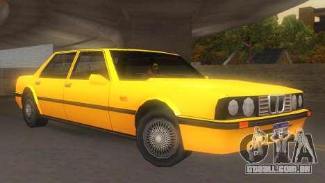 Vincent E30 para GTA San Andreas