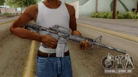 Original HD M4 para GTA San Andreas terceira tela
