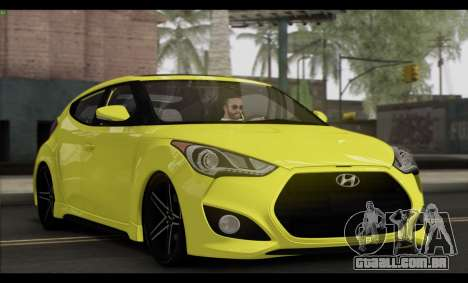 Hyundai Veloster 2012 para GTA San Andreas